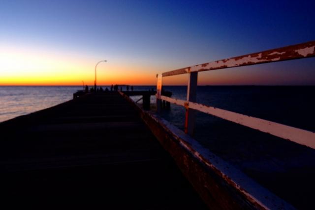 バッセルトン 海の中の道_f0050534_19213561.jpg
