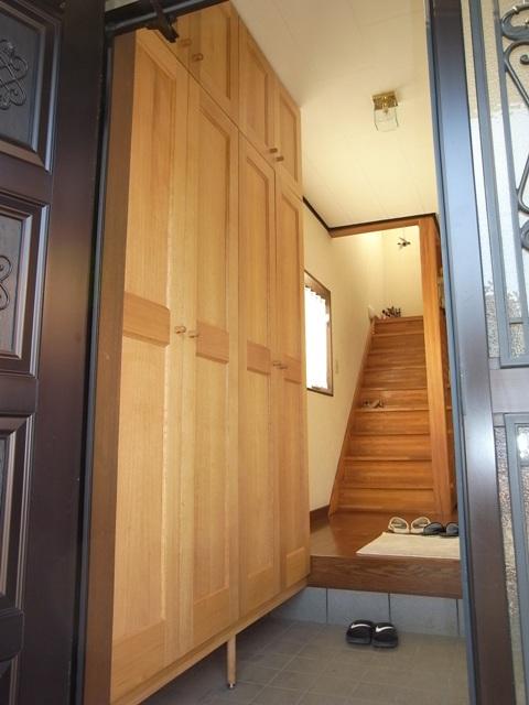 玄関や洗面所のイメチェン♪_f0174866_16122857.jpg