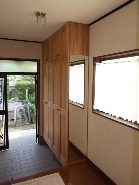 玄関や洗面所のイメチェン♪_f0174866_1623498.jpg