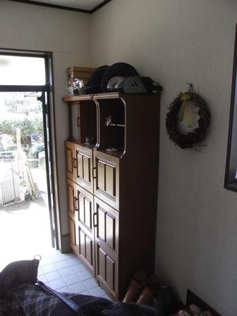 玄関や洗面所のイメチェン♪_f0174866_1764730.jpg