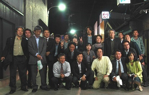 日向市駅前広場オープン祝賀懇親会&スギダラ仙人認定式!_f0105533_2532550.jpg