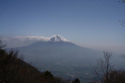富士山を眺める山旅 3日目 毛無山登山 _d0055236_19174971.jpg