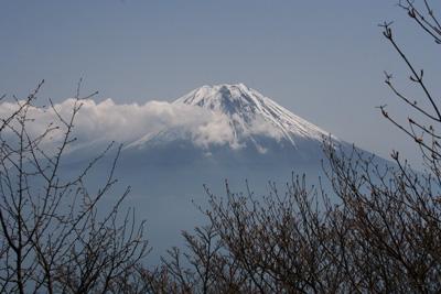 富士山を眺める山旅 3日目 毛無山登山 _d0055236_19344516.jpg