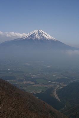 富士山を眺める山旅 3日目 毛無山登山 _d0055236_19361425.jpg