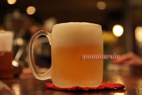 美味しい生ビールをどうぞ。_c0185583_019775.jpg