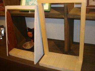 きぬさんとこの木材で工作しました! & KOHさんダウンか!_e0166301_20231718.jpg