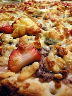 石釜であんこたっぷりのピザを焼く_c0053520_1371554.jpg