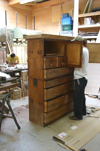 100歳の家具 リフォーム_f0171785_15145079.jpg