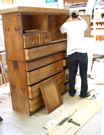 100歳の家具 リフォーム_f0171785_15162364.jpg