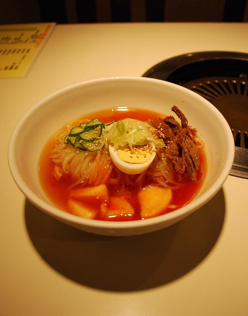 イーハトーブ釣づれ紀行-盛岡冷麺・食道園_c0177814_1262524.jpg