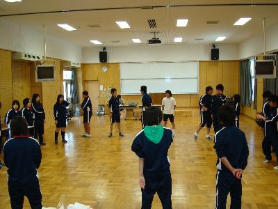 泊さんのワークショップin七尾東雲高校_e0118827_16393533.jpg