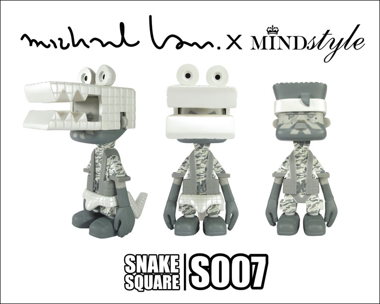 Michael Lau x MINDstyle = SNAKE SQUARE S007。_a0077842_0311436.jpg