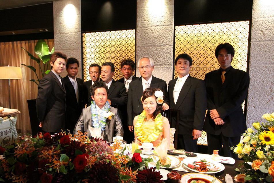 上原大工さんの結婚式(速報)_a0107574_18291031.jpg