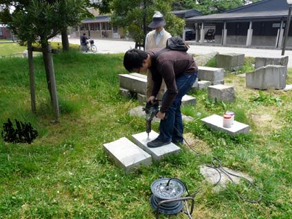 「石川の石を彫ろう2009」_e0118827_16445529.jpg