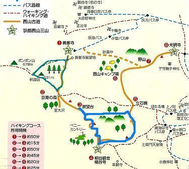 西山古道 Ⅱ 善峯寺から_b0025947_16163142.jpg