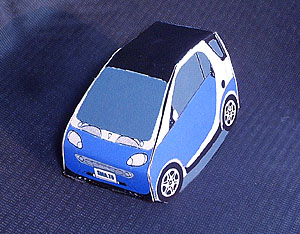 「ペーパーカー」_e0124490_19483849.jpg