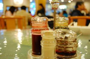 「粥麺館」で海鮮粥を食べる。_d0129786_1685838.jpg