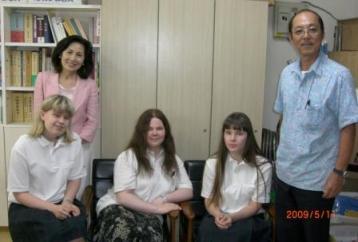 フィンランドからの留学生が来所_f0150886_13405279.jpg