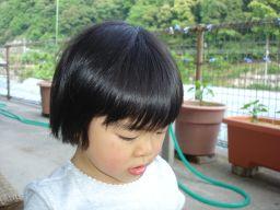 マコの髪カット IN K子美容室 & 肉の天龍_e0166301_17143063.jpg