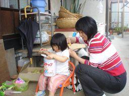 マコの髪カット IN K子美容室 & 肉の天龍_e0166301_1735626.jpg