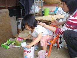 マコの髪カット IN K子美容室 & 肉の天龍_e0166301_1755044.jpg