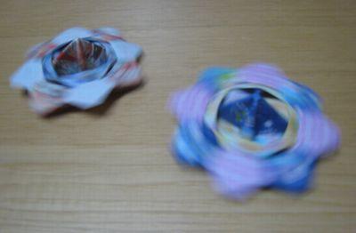 バラ 折り紙 折り紙遊び : nandeasobu.exblog.jp