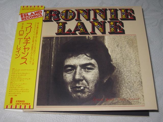 RONNIE LANE\'S SLIM CHANCE (紙ジャケ)_b0042308_23103857.jpg