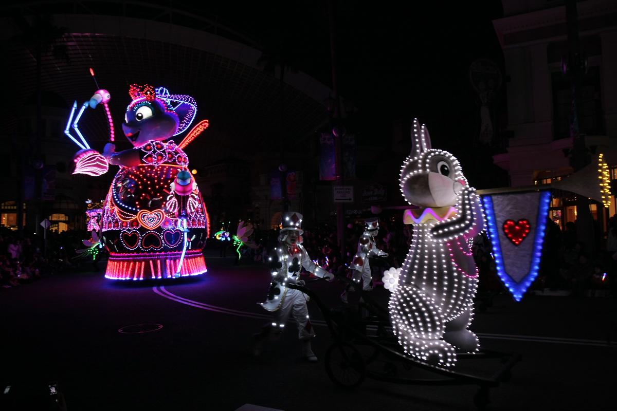 USJ マジカル・スターライト・パレード 2_f0021869_22101017.jpg