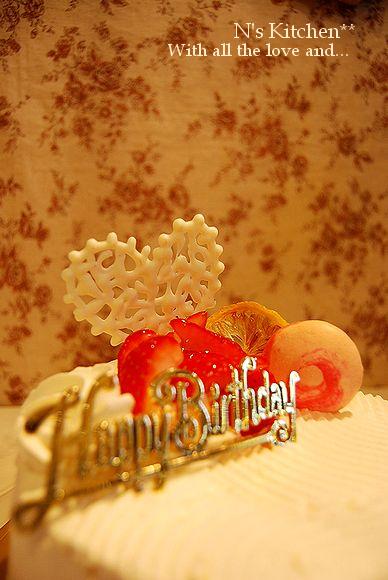 スパムエピ & イチゴショートのB.D cake_a0105872_192675.jpg