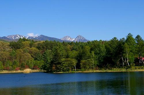 新緑に包まれる八ヶ岳 ~朝倉山城跡から~_d0102327_230428.jpg