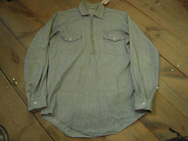 キャントバステムのヒッコリーシャツ!_d0121303_16282084.jpg