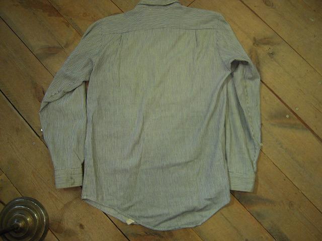 キャントバステムのヒッコリーシャツ!_d0121303_16282565.jpg
