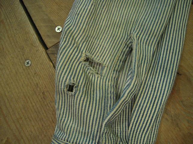 キャントバステムのヒッコリーシャツ!_d0121303_16334597.jpg