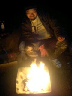 炎が上がってると思ったら_c0033210_1993320.jpg