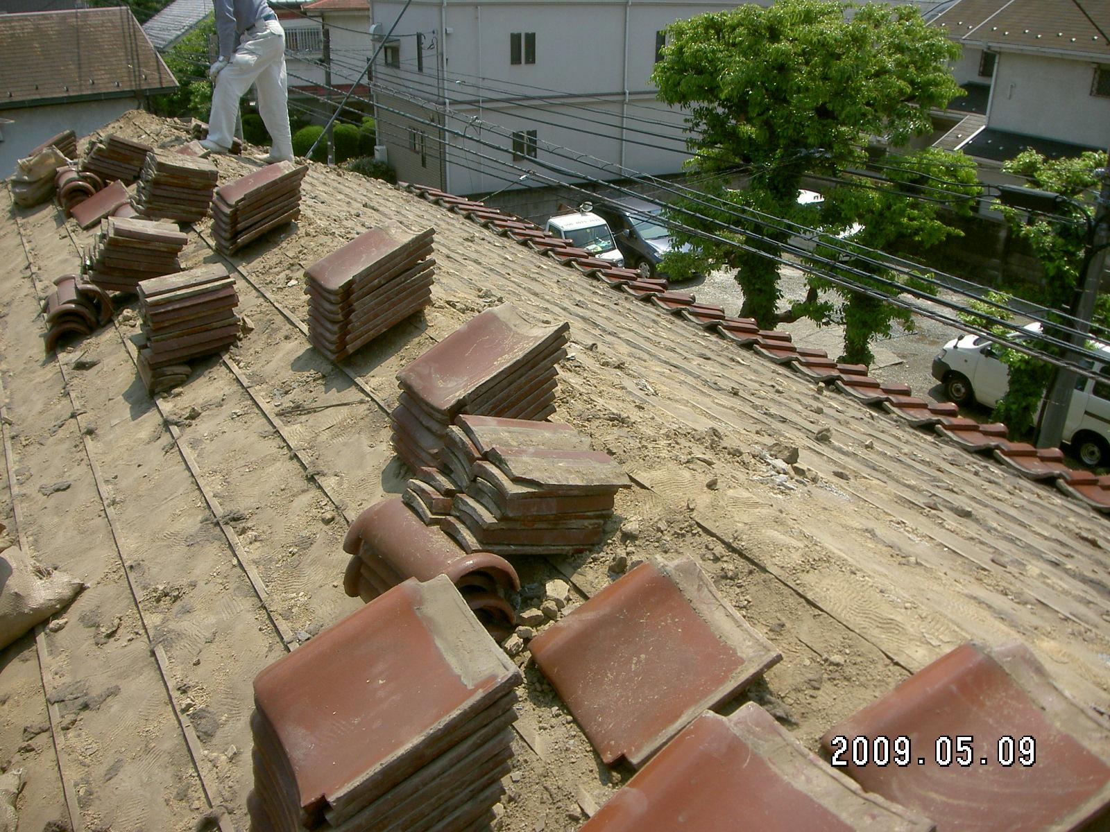 目黒区 S邸の屋根葺き替え工事_b0164967_17341082.jpg