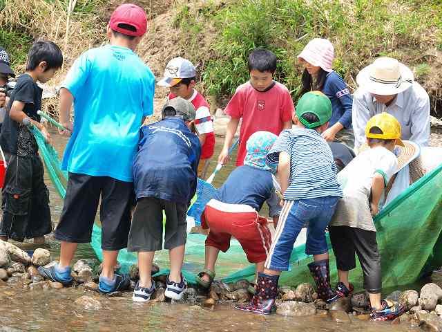 博物館講座・のぼりこ漁体験_b0135573_1935613.jpg