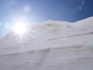 15mの雪壁にはさまれる_c0053520_1942187.jpg