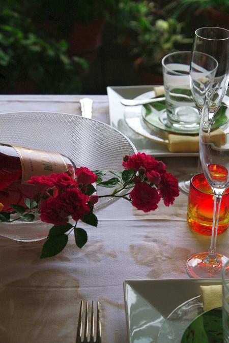 ZARA Homeのテーブルクロスで 初夏のテーブルコーディネート_d0145934_16344684.jpg