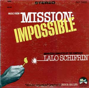 Mission Impossible by Lalo Schifrin (TV OST 『スパイ大作戦』より)_f0147840_22165190.jpg