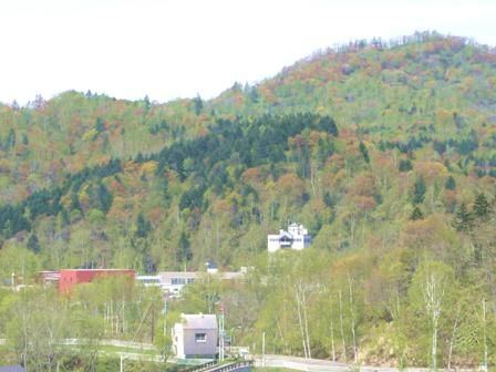 紅葉のような山々 ^^//_c0163376_1541022.jpg