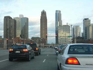 オークパークからシカゴへ入る_a0079995_524235.jpg