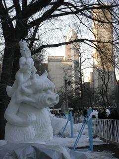 シカゴの雪祭り_a0079995_5503125.jpg