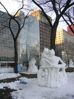 シカゴの雪祭り_a0079995_5504167.jpg