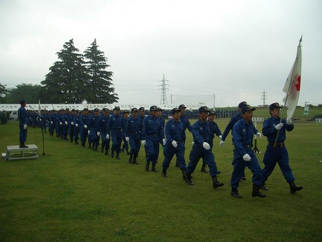 雨の中の水防訓練_f0141310_23353273.jpg