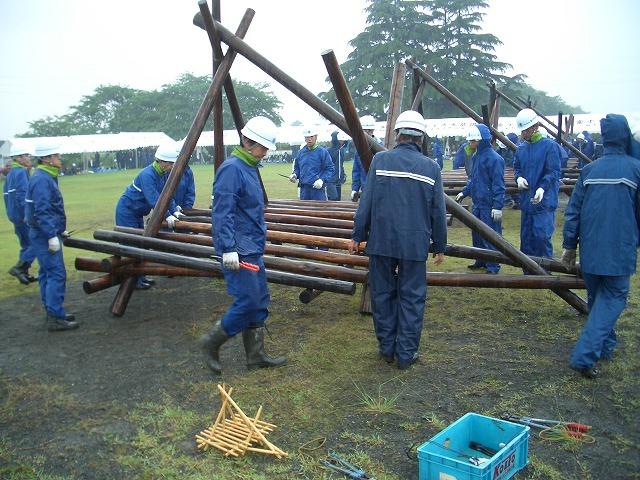 雨の中の水防訓練_f0141310_23392989.jpg