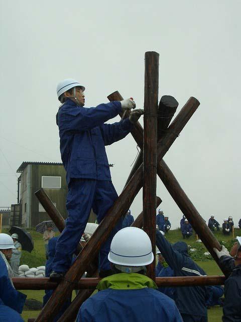 雨の中の水防訓練_f0141310_23394718.jpg