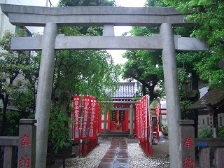 津軽稲荷神社   (江戸屋敷にあった神社11)  _c0187004_22231442.jpg