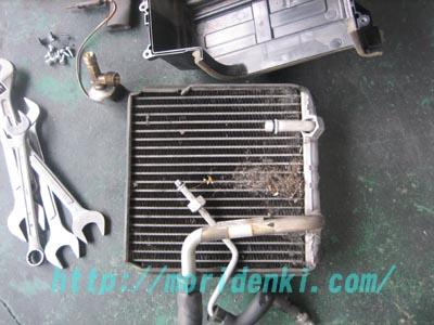 エアコンフィルター&エバポレーター洗浄 マーチ_e0169210_11164343.jpg