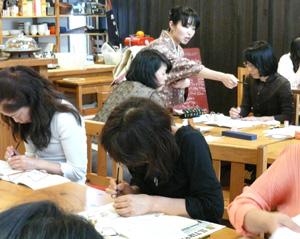春の週末スペシャル教室レポート〜篆刻教室_a0017350_1422892.jpg