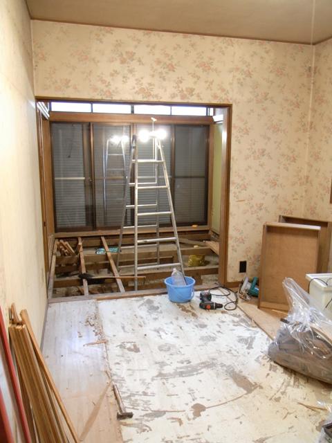 1階・スタジオ大改装 ―破壊―_b0170419_21452316.jpg
